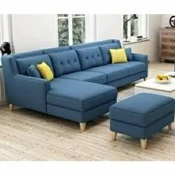 Blue Modern Sofa Set