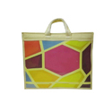 Colored Saree Shopping Bag