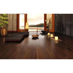 Brown Wooden Flooring, for Indoor