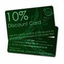 Plastic Discount Card