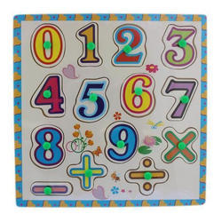 Number Puzzle Picture Board