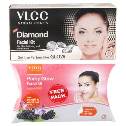 Dimaond Facial Kit VLCC Diamond Facial Kit, Packaging Type: Box