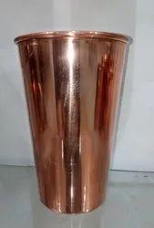 SWASTIC COPPER PLAIN LASSI GLASS
