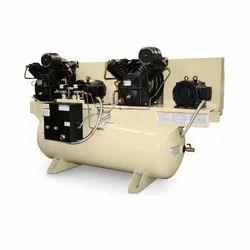 5-10 hp Electric Driven Duplex Reciprocating Compressor
