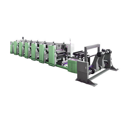 Paper Cup Blanks Printing Machine, Capacity: 80 m/min