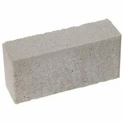Rectangular Gray Solid Concrete Bricks, Size: 4 x 6 x 8 x 10 Inch, for Side Walls