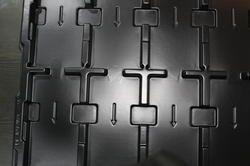 Plastic ESD Conductive Tray
