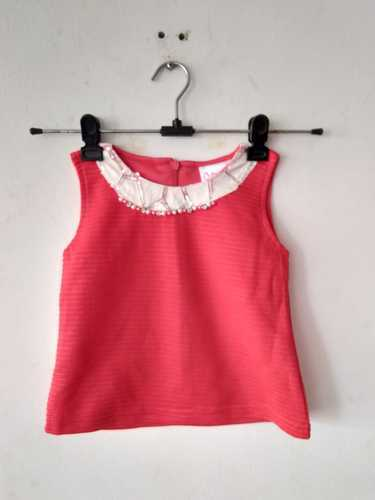 bf1d21ff22a19 Girls And Baby Girls Pink And White Kids Western Wear Dress For Girl Age 2  To