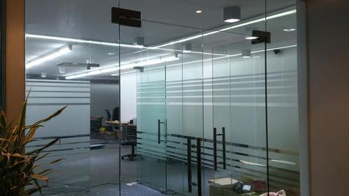 Bathroom Fitting Cost >> Glass Partition - Sound Proof Glass Partition Manufacturer from Bengaluru