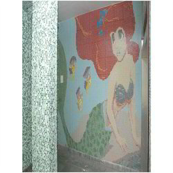Glass Mosaic Tiles Mural