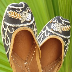 Bird Design Women's Jutti