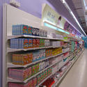 Supermarket Wall Units Configured For Various Load-Bearing Capacities