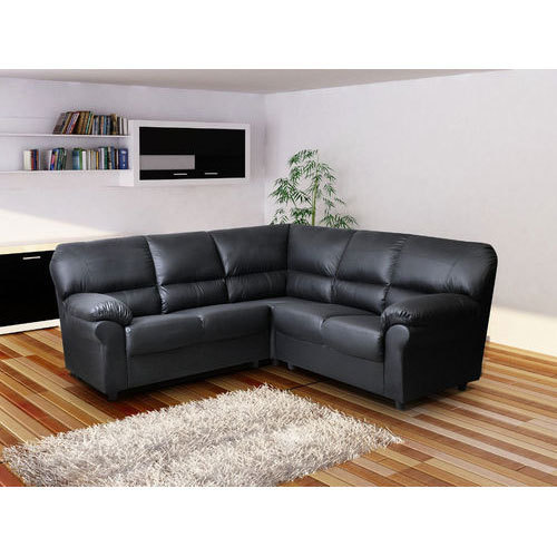 Corner Leather Sofa Set
