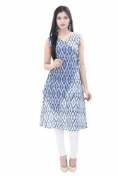 Indian Block Print Jaipuri Cotton Kurti