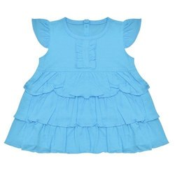 Kids Baby Girls Knee Length Frock