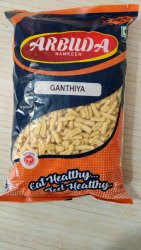 Arbuda Gathiya, Packaging Size: 500G, Plastic Polythin Packing