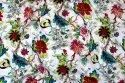 Designer Floral Printed Cotton Fabric for Accessories/Garments , Width 45 Inches