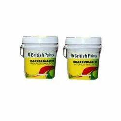 British Paints High Gloss Master Blaster Interior Emulsion Paint, Packaging Type: Bucket
