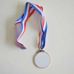 Sublimation medal