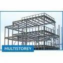 Steel Modular Multistorey Pre Engineered Building