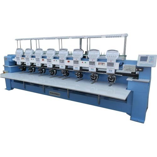 Semi High Speed Beading Embroidery Machine