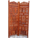 Carved Wooden Screen