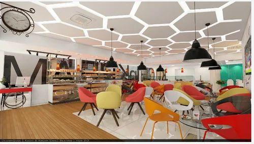 Office Interiors Service And Organic Store Interior Designing Service Service Provider Designqube Architects Interior Designers Jaipur