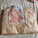 Ladies Party Wear Sober Work Saree, With Blouse Piece, 5.5 M (separate Blouse Piece)