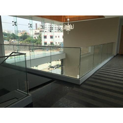 Aluminum Profile Glass Railing