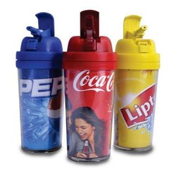 Multicolor Promotional Sippers Bottle, Capacity: 500 mL