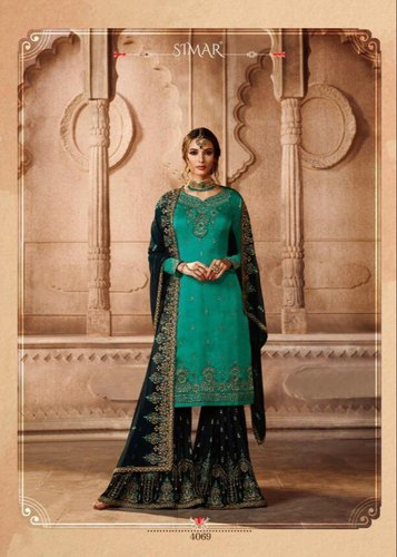 7e222a0626 PARTY WEAR SUIT - Mugdha Elite Partywear Suits Wholesale Sellers from Surat
