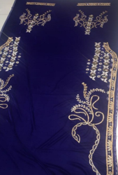 Beaded Embroidered Takchita Fabric