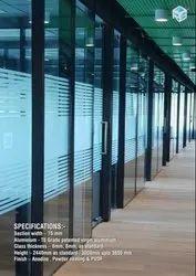 Aluminum Office Partitions