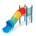 Water Play Ground Slide