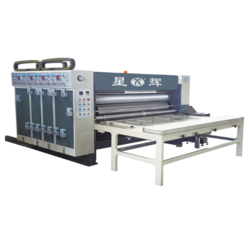 Chain Feeder Multi Printing Slotting And Die Cutting Machine