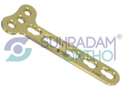 3.5mm LCP T Right Angle Locking Plates 3 Holes Head