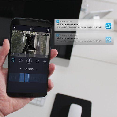 Foscam R2w Indoor 1080p FHD Wireless Camera