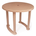 Prima Plastic Round Dining Table