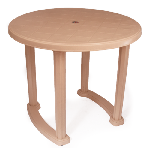 Prima Plastic Round Dining Table Rs, Round Table Plastic