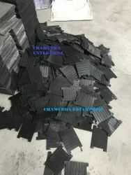 Railway Grooved Rubber Sole Plates