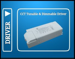 15 Watt Smart Driver (CCT Tunable & Dimmable Driver Bluetooth & WiFi Type)