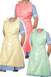 Unisex PE Disposable Apron, Size: Large