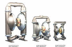 Pneumatic Stainless Steel Diaphragm Pumps