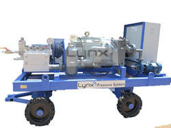 Hydrostatic Pressure Testing Pumps, Max Flow Rate: 450 LPM