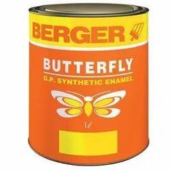 High Gloss Berger Butterfly Synthetic Enamel, Packaging Type: Bucket