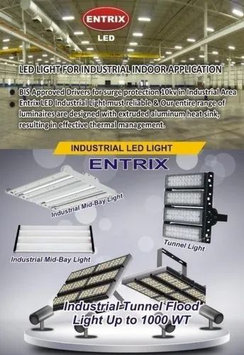 Entrix LED Industrial Light, 50W