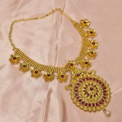 Golden Imitation Necklace