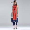 Sleeveless Casual Wear Kurti