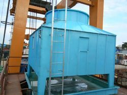 Europack Cross Flow Square Cooling Tower, Type: Induced Draft