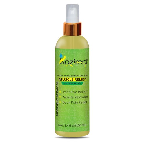 Kazima Muscle Relief Body Massage Oil